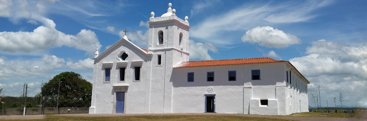 Igreja dos Reis Magos, em Nova Almeida, no município da Serra (ES)