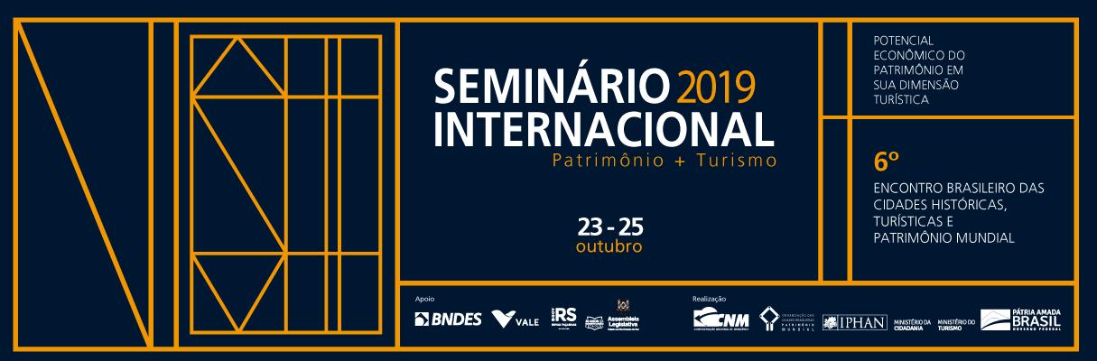 Seminário Internacional - Patrimônio+Turismo