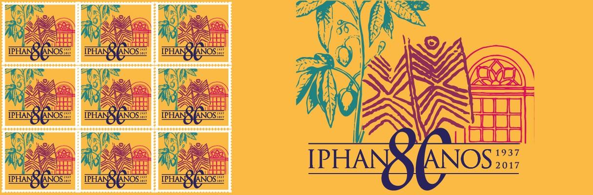Selo Iphan 80 Anos