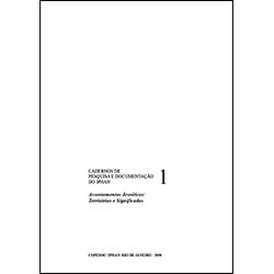 Caderno de Pesquisa e Documentação 1