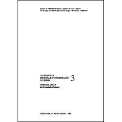 Caderno de Pesquisa e Documentação 3