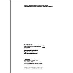 Caderno de Pesquisa e Documentação 4