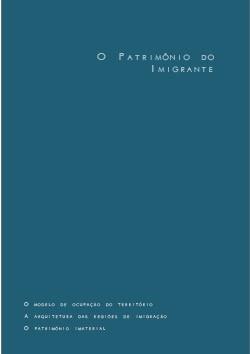 Pub Div - Imigrantes - Roteiros Nacionais de Imigração: Santa Catarina - Vol. 2