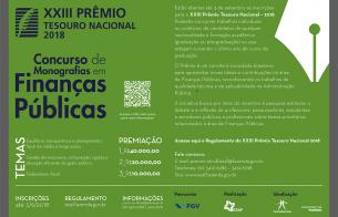 XXIII Prêmio Tesouro Nacional-2018.