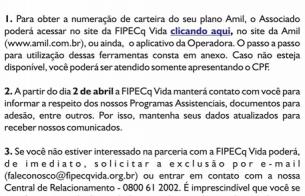 FIPECq Vida - Informa - Adesão IPHAN