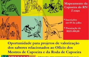 Superintendência do IPHAN no RN lança edital para a continuidade do mapeamento da Capoeira