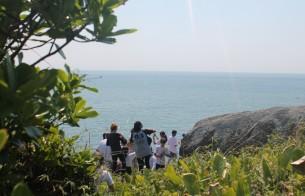 Ilha do Campeche (SC) recebe estudantes de escolas públicas