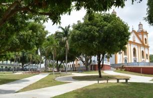 Em Manaus (AM), Praça da Matriz é inaugurada após requalificação