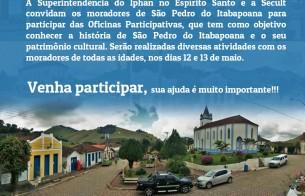 Oficina resgata memória de São Pedro do Itabapoana (ES)