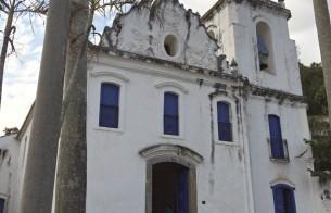 Igreja de Nossa Senhora do Rosário, em Vitória (ES), recebe obras estruturais