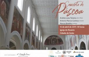 Cidade de Goiás recebe mais uma edição do Concerto de Páscoa