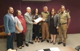 Iphan recebe projeto de restauro de batalhão da Polícia Militar de Goiás