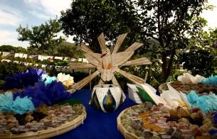 Oficinas capacitam jovens para produção de artefatos da Festa do Divino de Pirenópolis