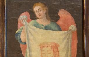 Verônica retorna a Lavras (MG): tela é restaurada e devolvida à Igreja de N. S. do Rosário
