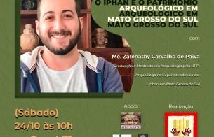 Abertas as inscrições para evento sobre o Patrimônio Arqueológico do Mato Grosso do Sul