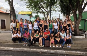 Estudantes visitam centro histórico de Cuiabá (MT)