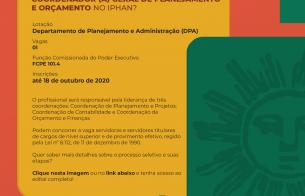 Processo seletivo define novo Coordenador-Geral de Planejamento e Orçamento do Iphan