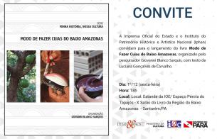 Livro sobre o modo de fazer cuias do Baixo Amazonas é lançado em Santarém (PA)
