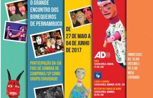 Lançamento do livro do Prêmio Teatro de Bonecos Popular do Nordeste