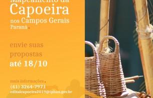Concurso de Mapeamento da Capoeira no Paraná - Resultado Final da Fase de Habilitação