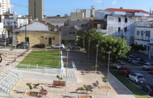 Praça do Estudante, em Natal (RN), é requalificada