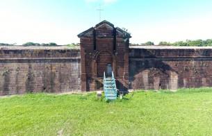 Real Forte Príncipe da Beira, em Rondônia, está em obras