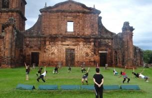 Ruínas de São Miguel das Missões (RS) é palco de espetáculo