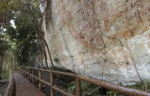 Obra de construção da passarela do Sítio Arqueológico Caititu é concluída em Lajeado (TO)