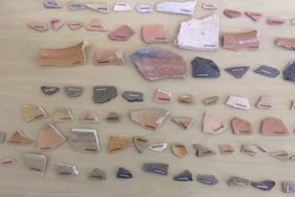 Achados arqueológicos Victor Meirelles