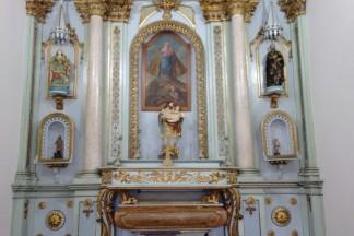 Fachada da Capela de São José das Laranjeiras