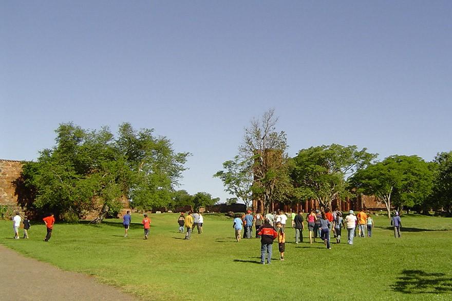 O Sítio Arqueológico São Miguel Arcanjo, em São Miguel das Missões-RS guarda os resquícios da ocupação Guarani Mbyá naquele local