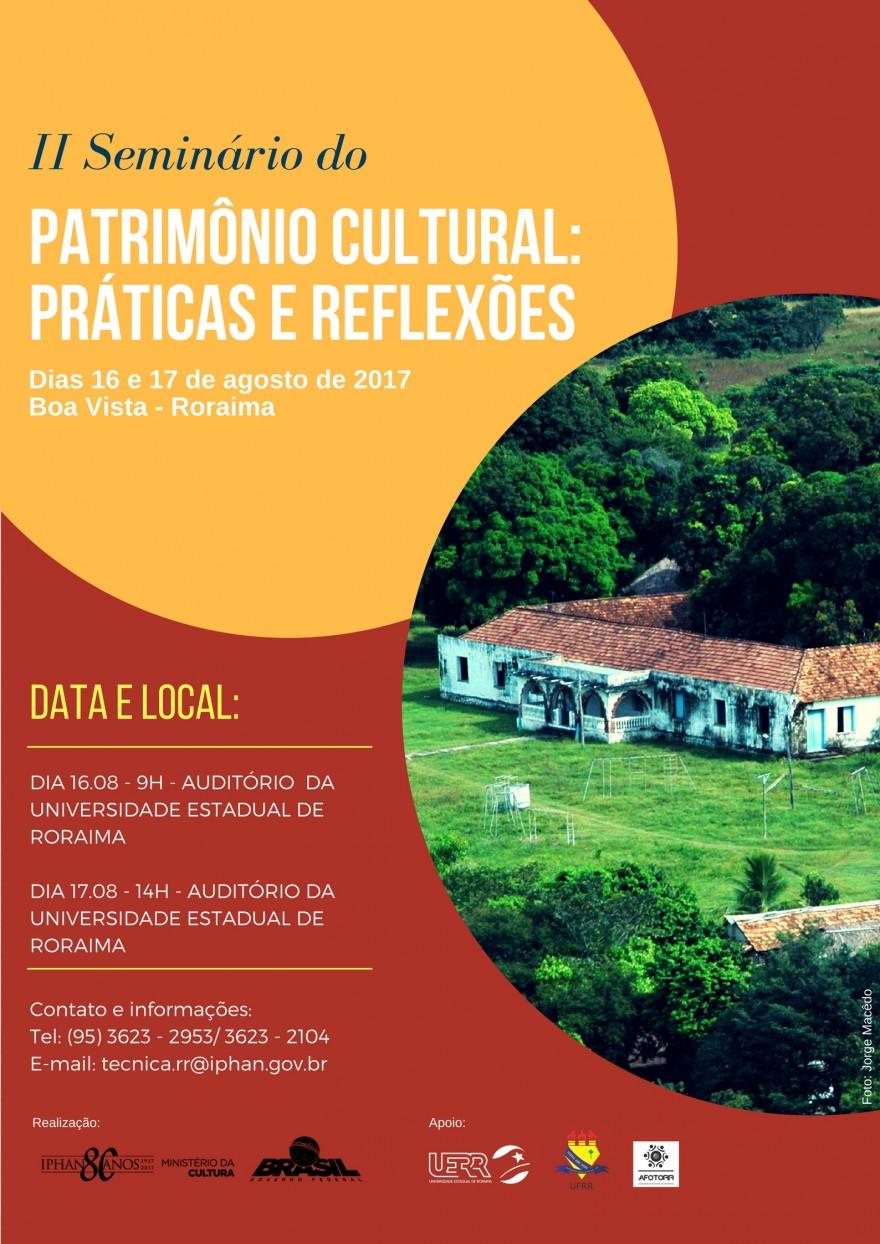 II seminário Patrimonio Roraima A
