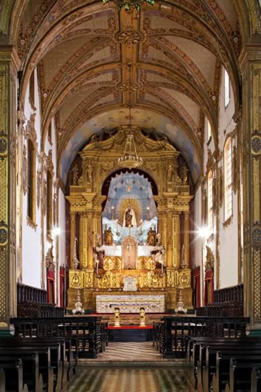 Altar da Igreja de Nossa Senhora do Carmo