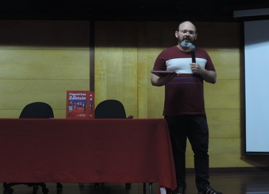 Lançamento do Livro Capoeirices de Zantoin