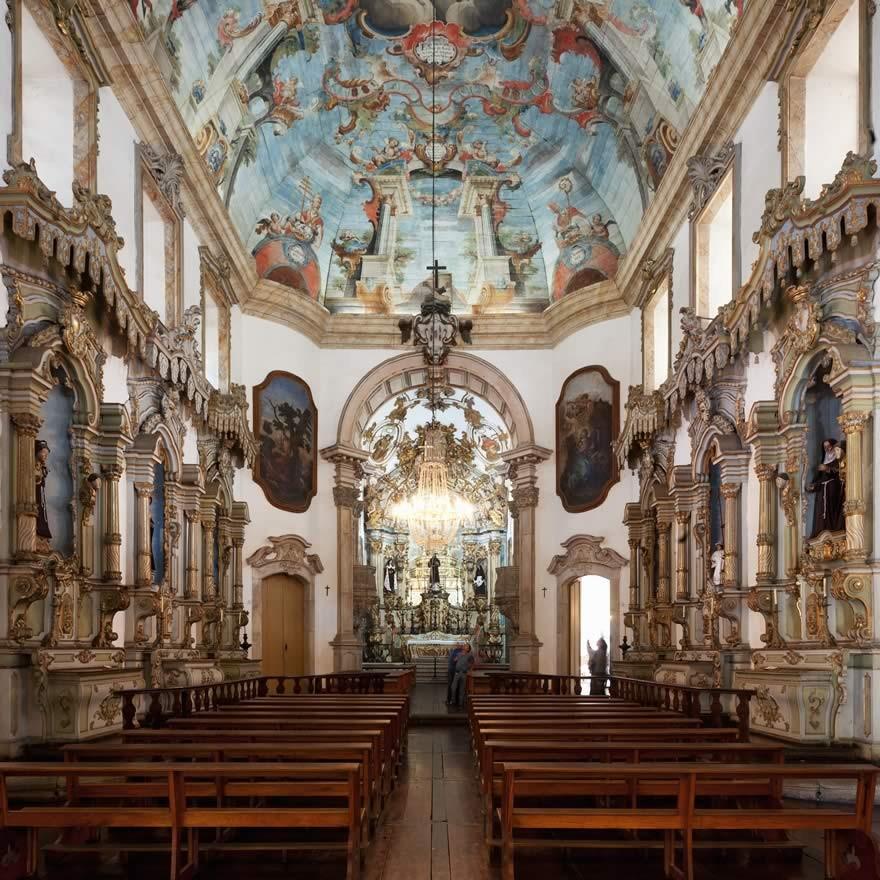 Interior da Igreja São Francisco de Assis