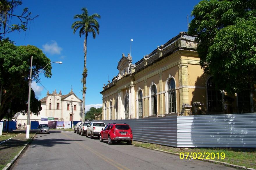 Estação Ferroviária e Igreja do Bom Jesus do Saivá