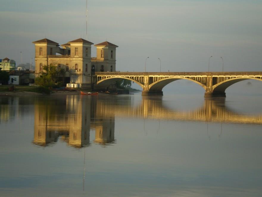 Ponte Barão de Mauá em Jaraguão (RS)