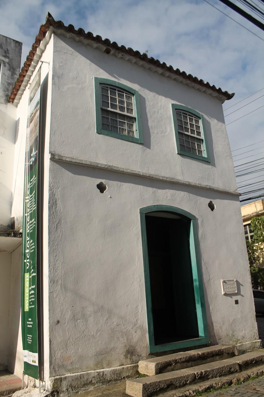 Casa à rua Saldanha Marinho, nº 3, onde nasceu Victor Meirelles
