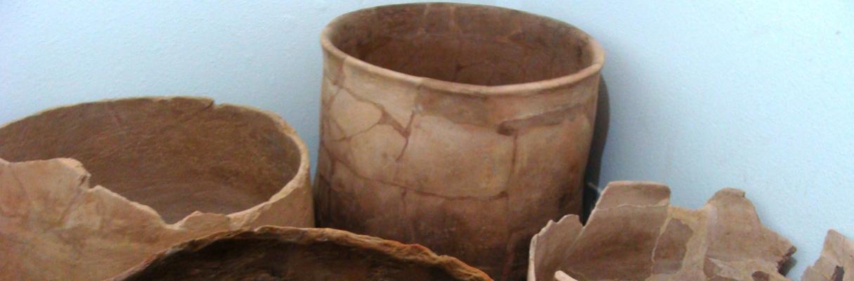 Peças do Sítio Arqueológico da antiga Vila de Santo Antônio