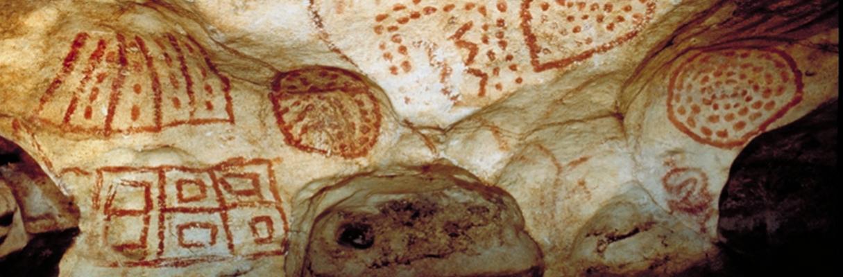 Inscrições rupestres na região do Seridó