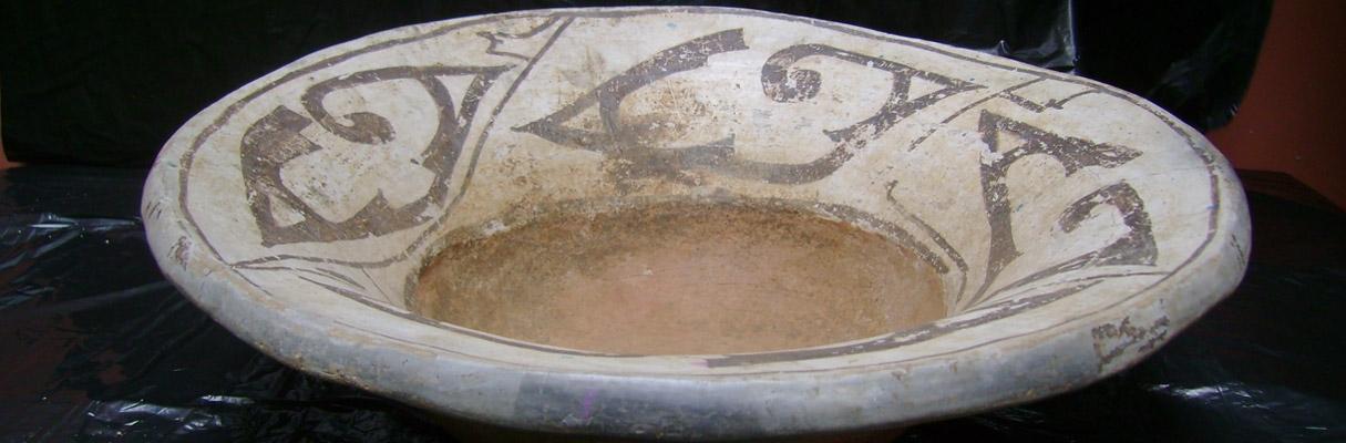 Urna funerária encontrada no Amazonas