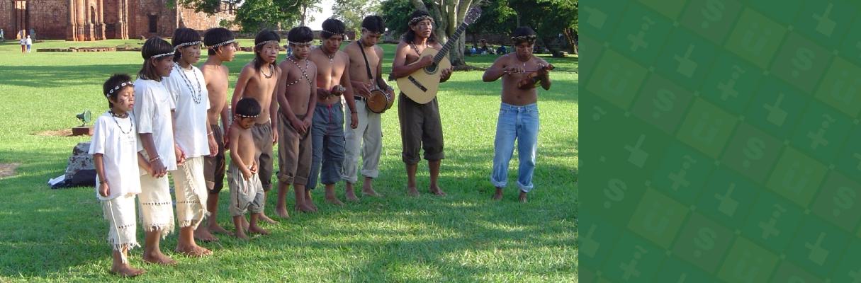 Língua Guarani M'bya do tronco linguístico Tupi
