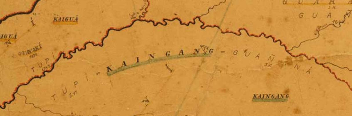 Mapa Etno-histórico do Brasil e Regiões Adjacentes de Curt Nimuendajú