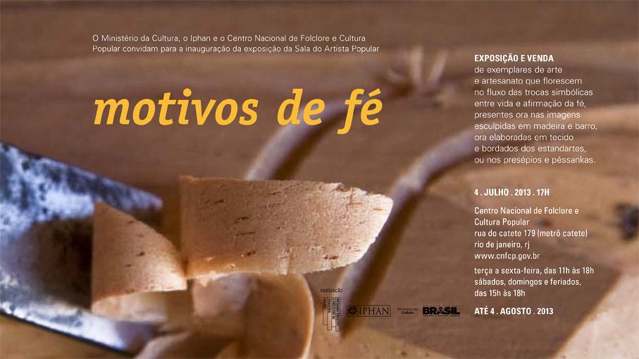 Adesivo Decorativo Para Potes De Vidro ~ Notícia Exposiç u00e3o no Rio de Janeiro une fé e artesanato IPHAN Instituto do Patrim u00f4nio