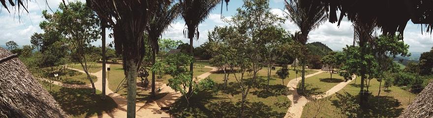 Vista Panorâmica da paisagem da Serra da Barriga (AL)