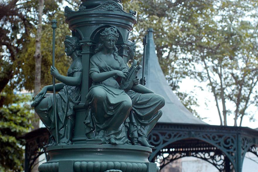 Chafariz da Praça D. Pedro II, no Paço da Liberdade
