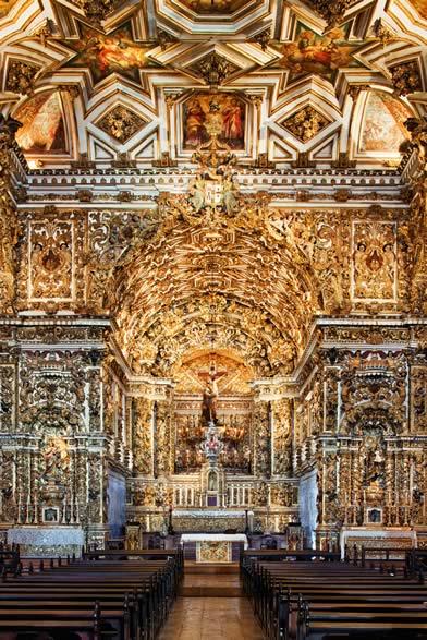Interior da Igreja de São Francisco