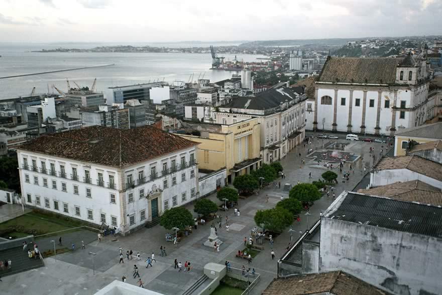 Porto de Salvador - Vista aérea