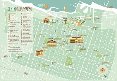 Mapa do Centro