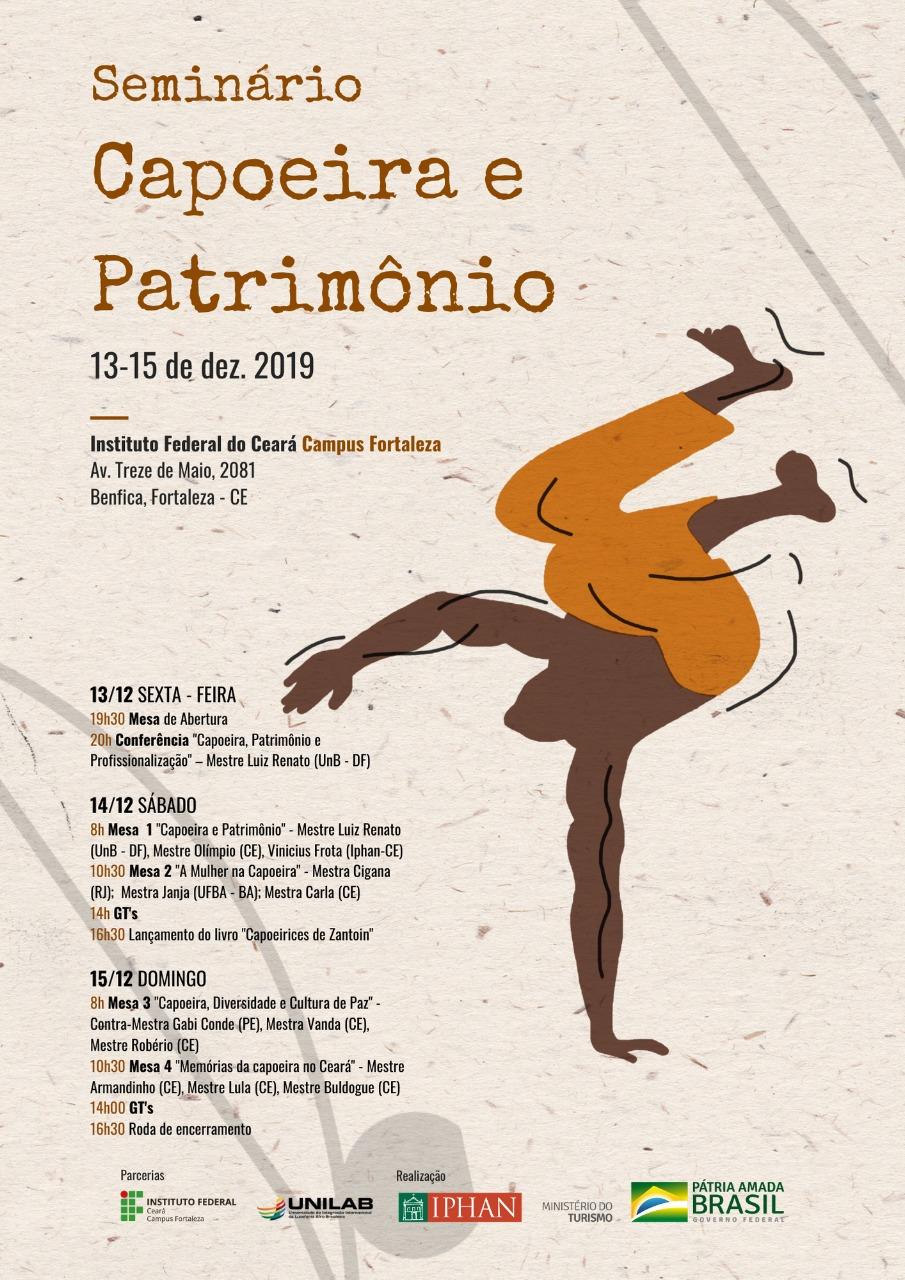 Seminário Capoeira e Patrimônio